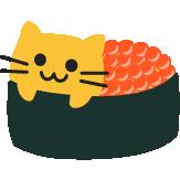 :blobcatsushiikura: